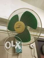 wall mounted swing fan