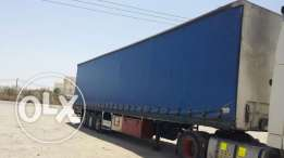 Trailer curtain side