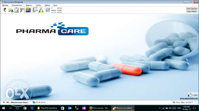 PharmaCare For Pharmacy Retail & Wholesale Software