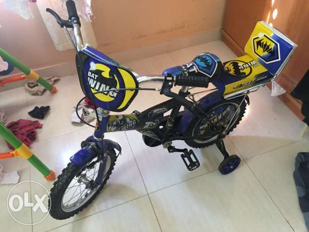 rarely used kids cycle for sale