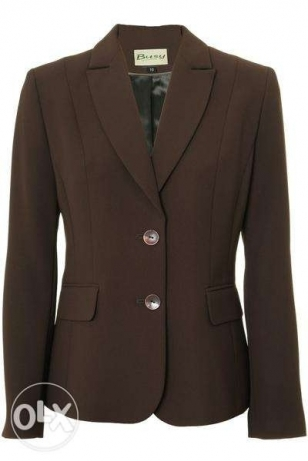 Brand New Brown Suit Jacket Purchased from England