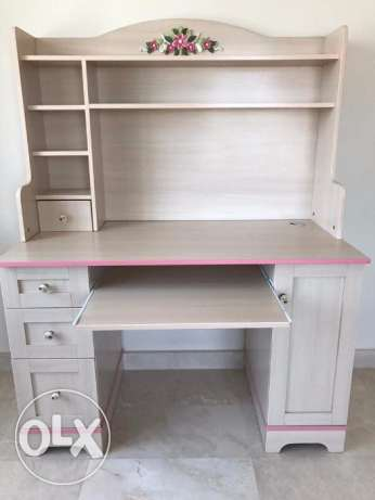 girls dressing table and computer/study table with high quality chair!