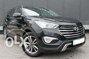 Hyundai Grand Santafe Full Option Metallic Black