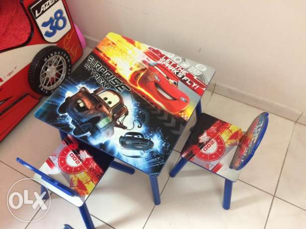 Boy's Car Theme Full Bedroom Set From PAN Emirates for sale. مسقط -  5