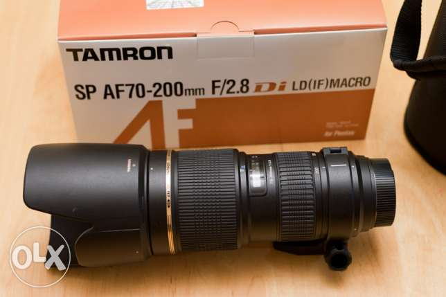 Professional Tamron 70-200 F/2.8 for Canon / Price slashed