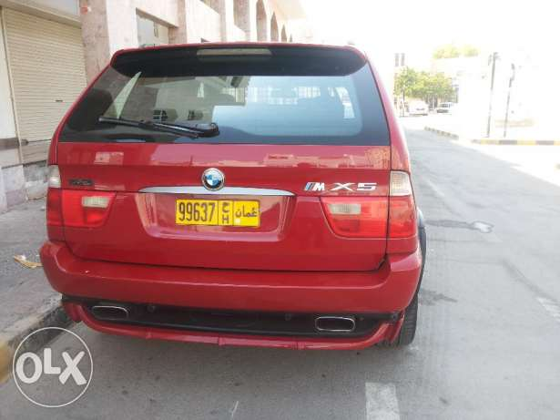 BMW X5 4.6is full OPTIONS agency Oman 2003 free ACCIDENT oreginal PAI مطرح -  4