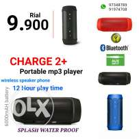 Charge two plus portable mp3 player