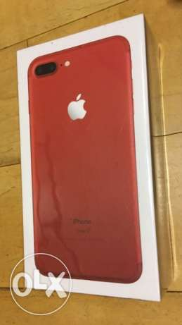 Apple iPhone 7 Plus RED Special Edition 256GB Unlocked