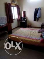 Big bed room with attach toilet with Wi-Fi for rent in wadi kabir park