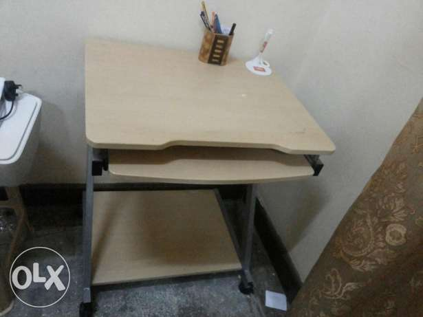 Used  good condition computer Table