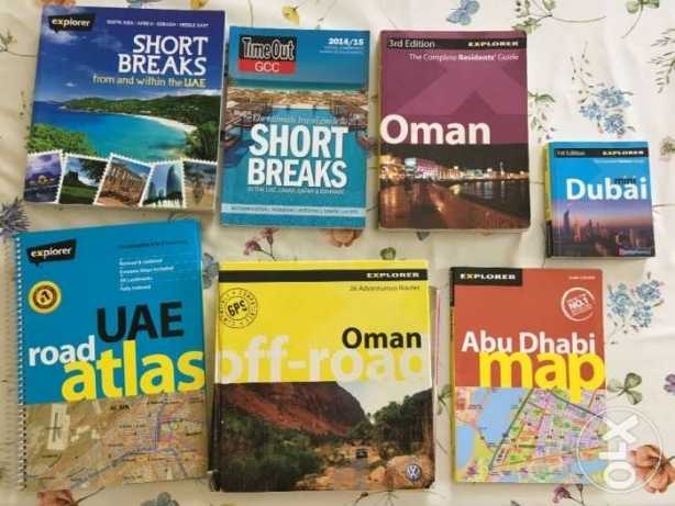 Guide Books - Oman and UAE