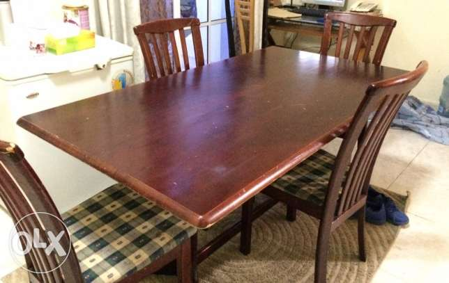 29 in JVC TV and Dining table for sale