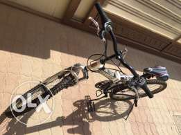 bicycle in good condition , six gear