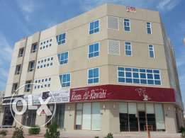 Flats for rent in amirat near post office